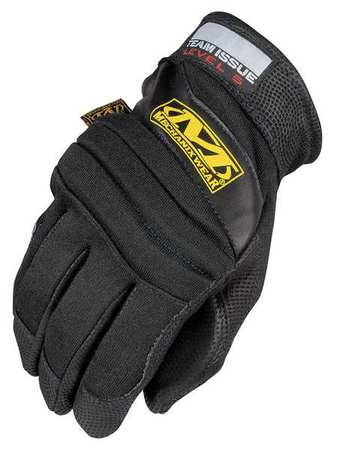 Fire Retardant Gloves, XL, Black, PR