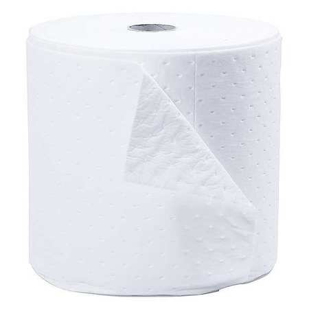 Absorbent Roll, White, 18 gal., 15 In. W