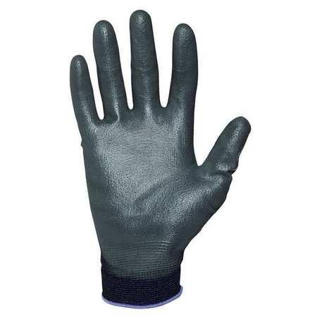 Coated Gloves, Black, M, PR