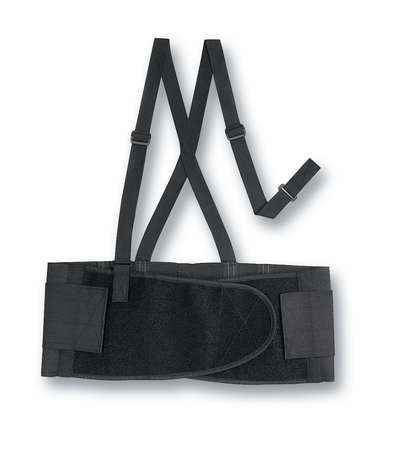 Back Support with Detachable Suspenders