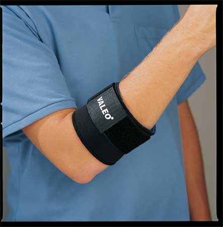 Single Strap Latex Free Elbow Supports