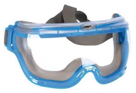 Jackson Clear OTG Goggles,  Anti-Fog,  Anti-Static,  Scratch-Resistant