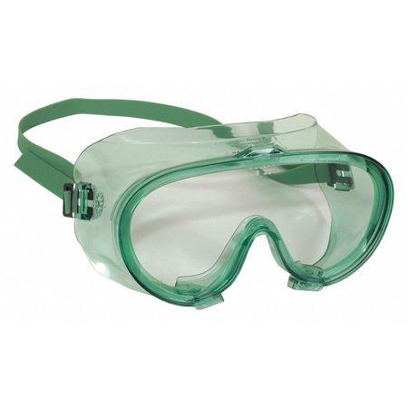 Monogoggle 202 D4/D5 Dust Protect AntiFog CLR Len GRN Frame