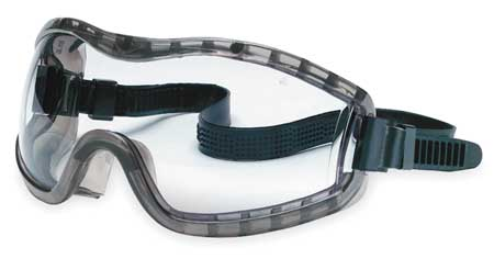 Crews Clear Chemical Splash Goggles,  Anti-Fog,  Scratch-Resistant