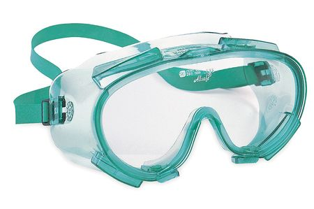 Jackson Clear Chemical Splash/Impact Resistant Goggles,  Anti-Fog