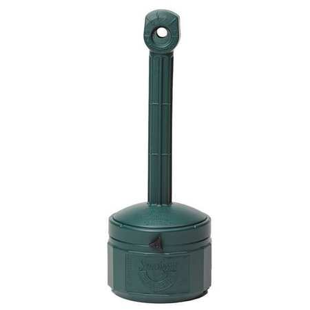 Cigarette Receptacle, 1 gal., Green