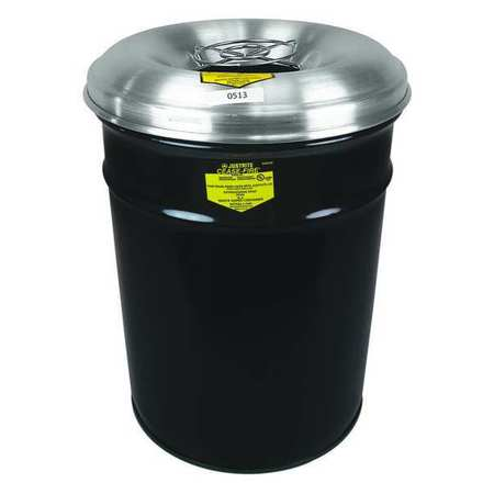cigarette receptacle 6 gal gray