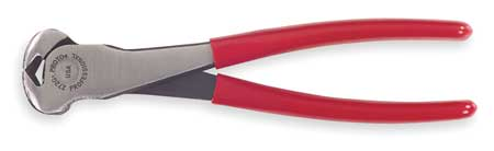 End Cutting Nippers, 8-1/4 In