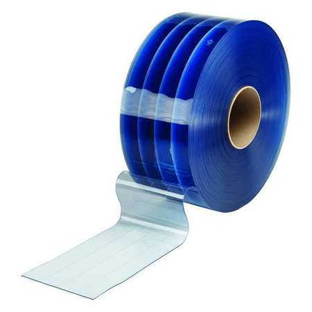 Flexible Bulk Roll, Reinforced, 8in, Clear