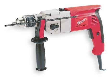 "Hammer Drill Kit, 1/2"", 7.5A, 0-40, 000bpm"