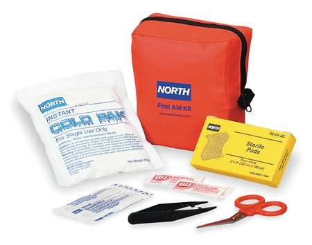 First Aid Kit, Bulk, Red, 5 People