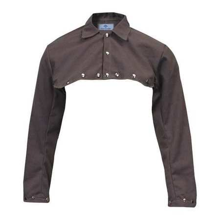 "Welding Half Jacket, XL, 30"", Brown"