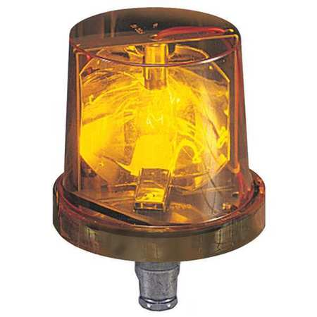 Warning Light, Incandescent, Amber, 120VAC