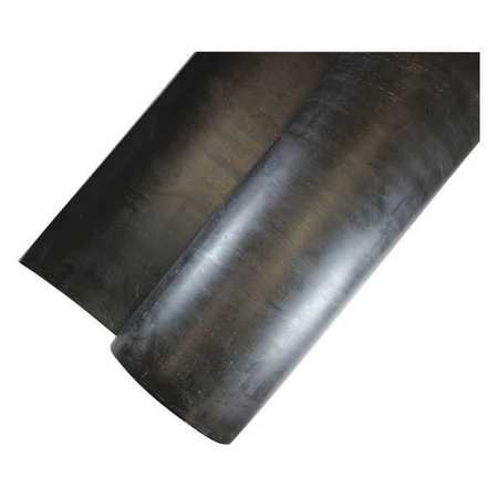 "Rubber Sheet, EPDM, 1/4""Thick, 36""x36"", 85A"