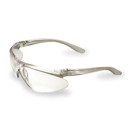 3TE11 Safety Glasses, Clear, Scratch-Resistant