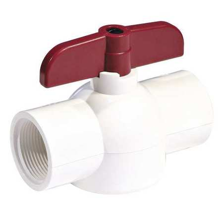 "1-1/2"" Socket PVC Ball Valve Inline"