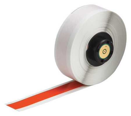 "1/2"" x 50 ft. Orange  Label Tape Cartridge,  Vinyl B439"