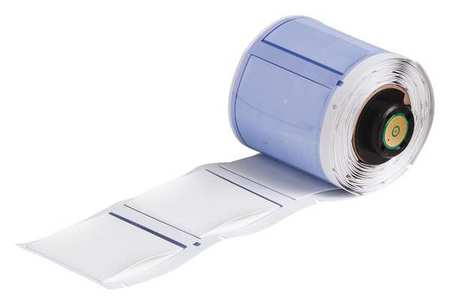 "1-49/64"" x 1-21/32"" White  Label,  Polyolefin"