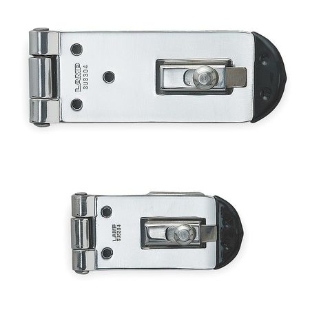 Hasp, Fixed, 304 Stainless Steel, Polished