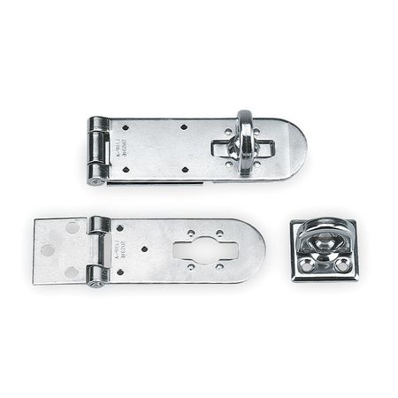 Hasp, Rotating Eye, 316 Stainless Steel