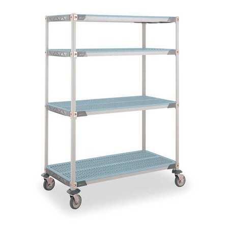 Wire Cart, 24 In. W, 36 In. L, Steel