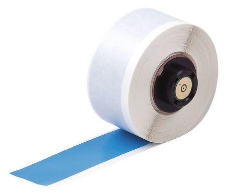 "1"" x 50 ft. Blue  Label Tape Cartridge,  Vinyl B439"