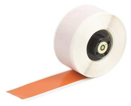 "1"" x 50 ft. Orange  Label Tape Cartridge,  Vinyl B439"