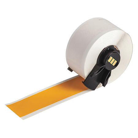 "1"" x 50 ft. Yellow  Label Tape Cartridge,  Vinyl B439"