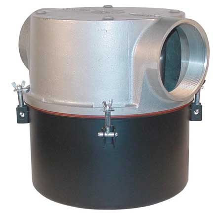 T-Style Inlet Filter, 5 In FNPT, 800 CFM