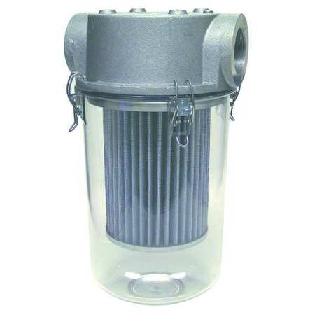 T-Style Inlet Filter, 2 In FNPT, 175 CFM