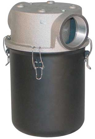 T-Style Inlet Filter, 2 1/2 In FNPT