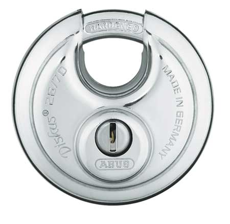 "Keyed Padlock, Different, 2-3/4""W"