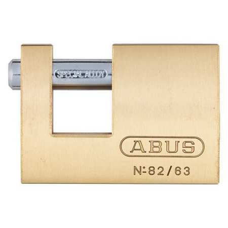 U-Shaped Keyed Padlock, 9/16 In H, Alike