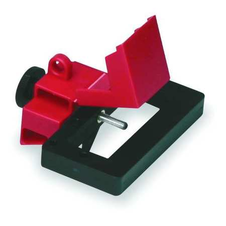 Breaker Lockout, Oversized, 480/600V, Red