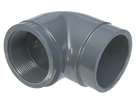 "3/4"" FNPT x Socket CPVC 90 Deg. Elbow"