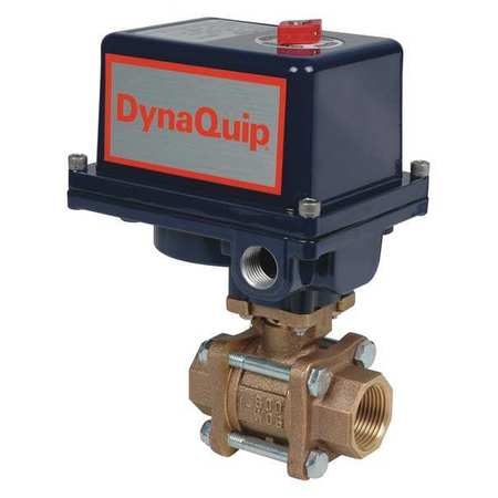 "1-1/2"" FNPT Bronze Electronic Ball Valve 2-Way"