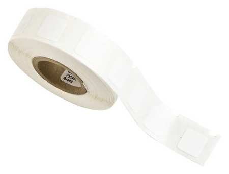 "1/2"" White Printer Label,  Nylon Cloth"