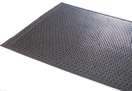 Floor Mat, Black, 3ft. x 5ft.