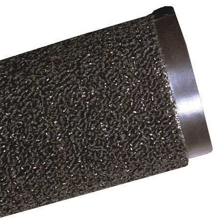 Carpeted Entrance Mat, Black, 3ft. x 4ft.