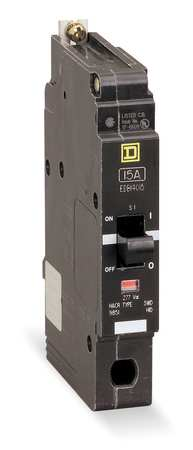 1P GFEP Bolt On Circuit Breaker 40A 277VAC