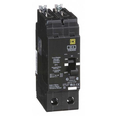 2P Standard Bolt On Circuit Breaker 50A 277/480VAC