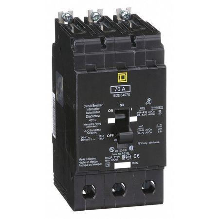 3P Standard Bolt On Circuit Breaker 70A 277/480VAC