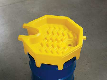 Drum Funnel, 11 In, with Spout