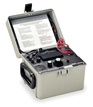 Phase & Motor Rotation Tester, Up-600VAC