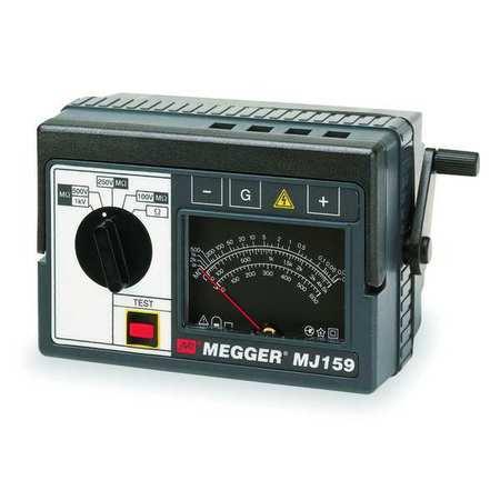 Hand Cranked Megohmmeter, 1000VDC