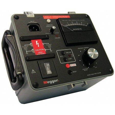AC/DC High-pot Tester, 4kVAC, 5kVDC