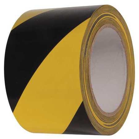 Floor Marking Tape, Roll, 3In W, 108 ft. L