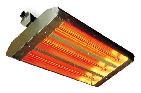 Electric Infrared Heater, 208V, 4800W