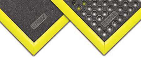 "Mat Ramp, Yellow, 2"" x 5ft."