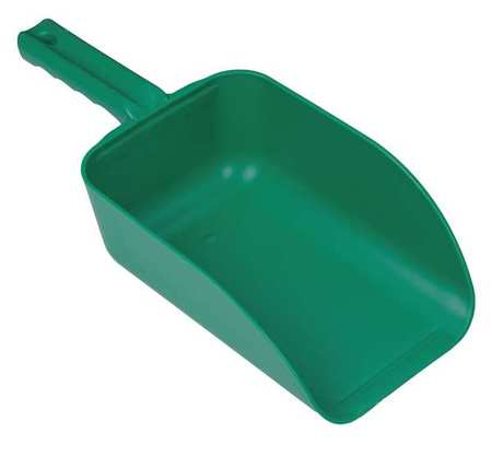 Large Hand Scoop, Green, 15 x 6-1/2 In